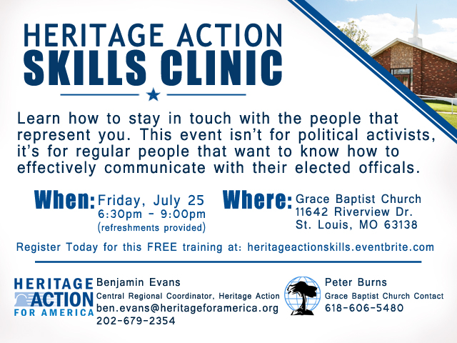 Heritage Action Flyer